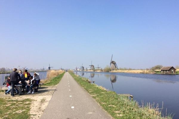 Les 3e et 4e Travaux de bureau en Hollande, à la découverte du site de Kinderdijk et de Rotterdam
