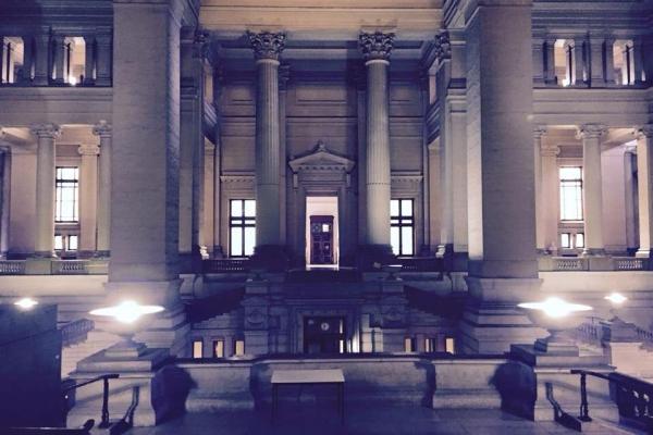Séance de croquis au Palais de Justice
